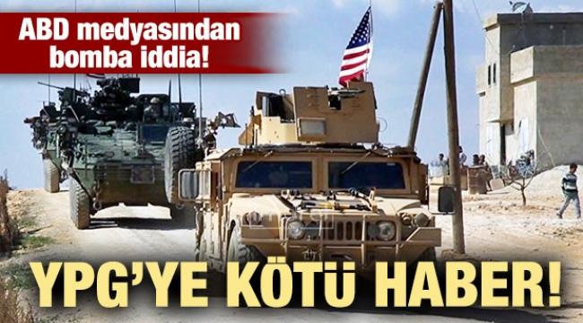 Terör örgütü YPG'ye kötü haber