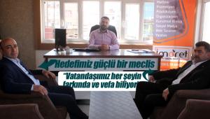 AK Partili adaylardan ziyaret