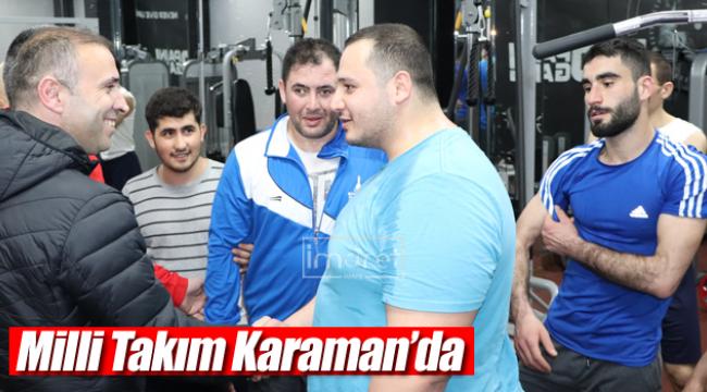 Milli Takım Karaman'da
