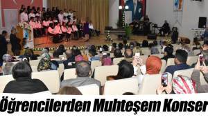 Özel Öğrencilerden Muhteşem Konser