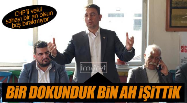 """Ünver; """"BİR DOKUNDUK BİN AH İŞİTTİK"""""""