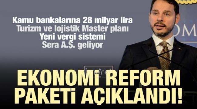 Ekonomi Reform Paketi'ni açıkladı