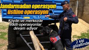 Jandarma'dan 2 adrese operasyon