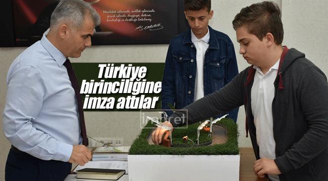 Türkiye birinciliğine imza attılar