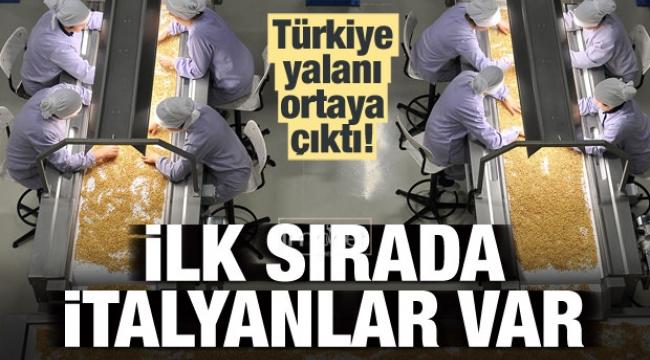 Türkiye yalanı ortaya çıktı!
