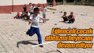 Eğlenceli çocuk atletizmi heyecanı devam ediyor
