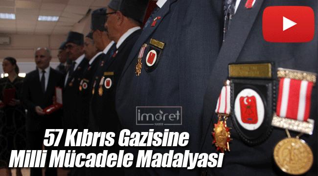 Karaman'da Kıbrıs gazilerine madalya ve beraat belgesi