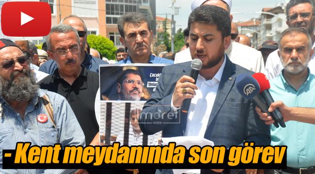 Karaman'da Mursi için gıyabında cenaze namazı kılındı