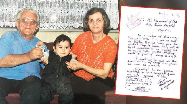 Kunduracı Ahmet'ten Cape Town'a kalp naklimektubu