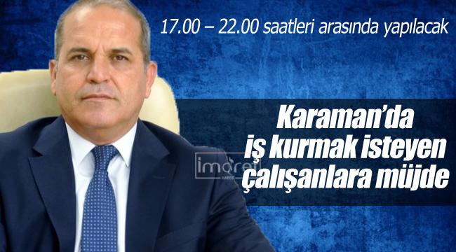 Karaman'da çalışanlara yönelik girişimcilik kursu