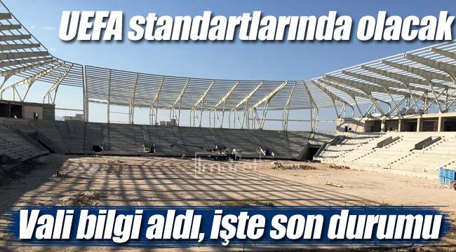 Karaman şehir stadyumunda son durum