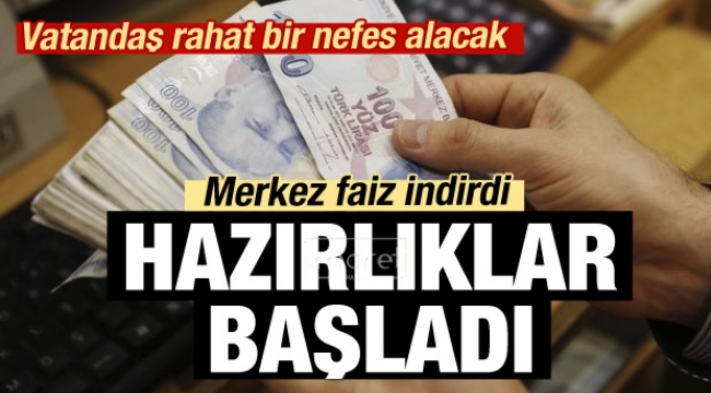 MB faiz indirdi, bankalar düğmeye bastı!