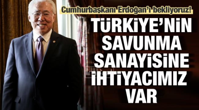 Türkiye'nin savunma sanayisine ihtiyacımız var