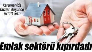Karaman'da emlak sektöründe hareketlilik