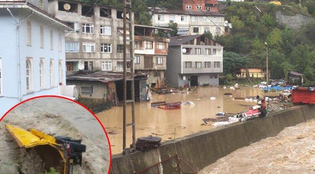 Artvin'de sel felaketi! Belediye Başkanı konuştu, Bünyamin Sürmeli uyardı