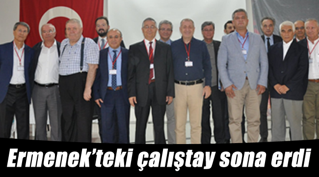 Ermenek'teki çalıştay sona erdi