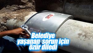Karaman Belediyesi'nden Vatandaşa Özür