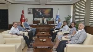 Karaman GSİM Müdürü Bebek'ten Rektör Akgül'e Ziyaret