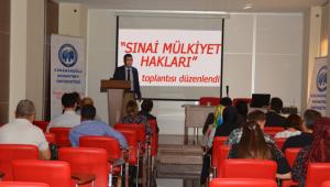Sınai Mülkiyet Hakları toplantısı düzenlendi