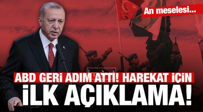 Erdoğan'dan harekatla ilgili ilk açıklama