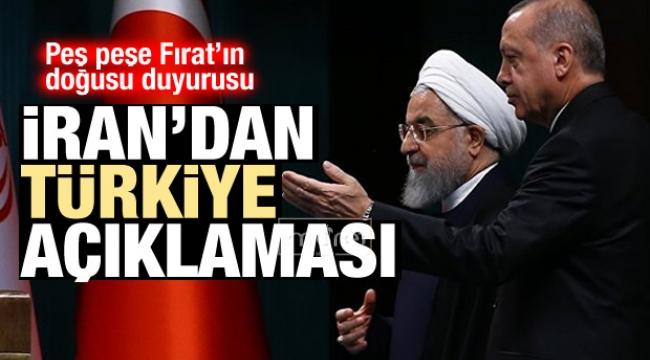 İran'dan peş peşe Türkiye açıklamaları