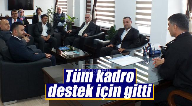 MHP'den Mehmetçiğe destek ziyareti