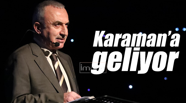 Sofuoğlu Karaman'a geliyor