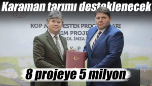 8 projeye 5 milyon