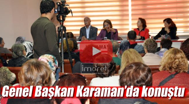 CHP'li Köse Karaman'da konuştu