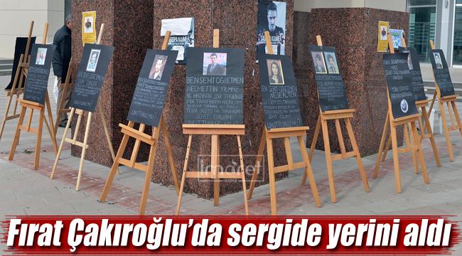 Fırat Çakıroğlu'da sergide yerini aldı