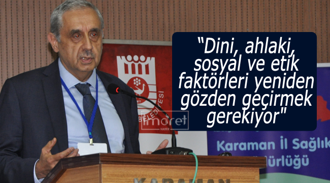 Karaman'da organ bağışı konuşuldu