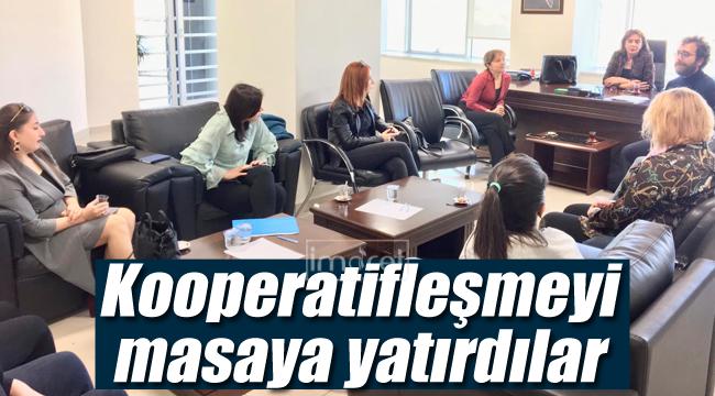 Kooperatifleşmenin önemini masaya yatırdılar