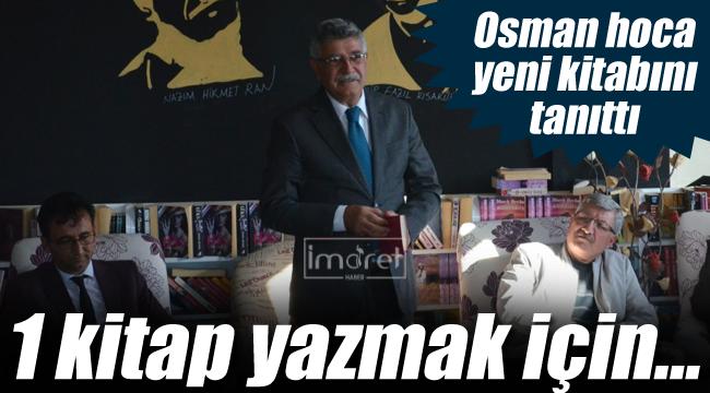Osman Nuri Koçak yeni kitabını tanıttı