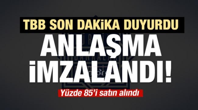 Türkler çoğunluk hisselerini aldı