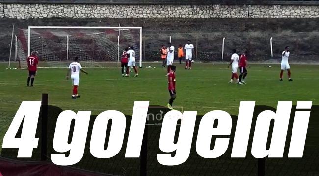 Zirveye 4 gol ile ara