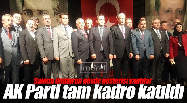 AK Parti tam kadro
