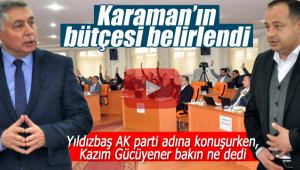 Karaman'ın 2020 bütçesi belirlendi