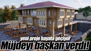 Kültür merkezi projesi hayata geçiyor