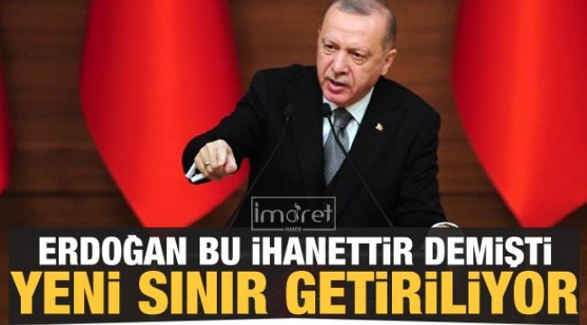 Erdoğan 'bu ihanettir' demişti!