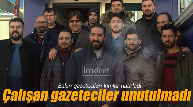 Karaman'da çalışan gazeteciler unutulmadı