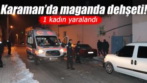 Karaman'da maganda dehşeti