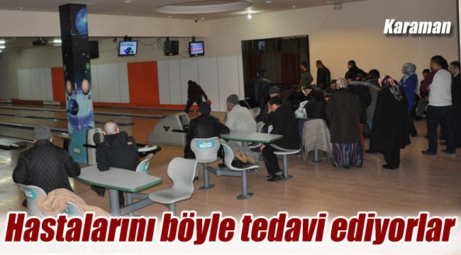 Karaman'da TRSM danışanları gönüllerince eğlendi