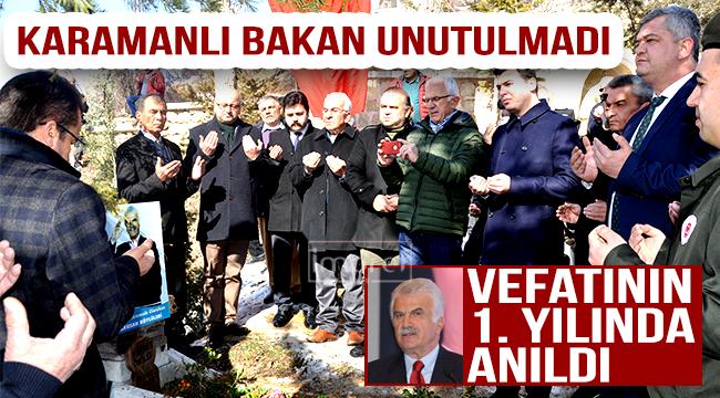 FİKRET ÜNLÜ MEZARI BAŞINDA ANILDI