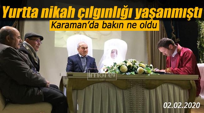 Karaman'da 02.02.2020 rağbet görmedi