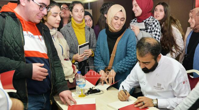 'ŞEF EMRE İDRİSOĞLU İLE WORKSHOP EĞİTİMİ'