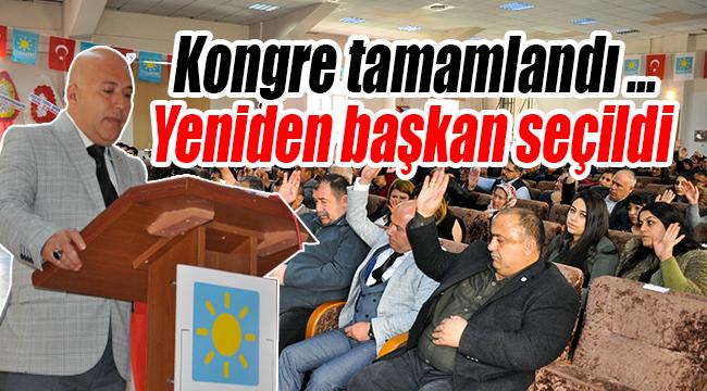 İYİ Parti Merkez İlçe 2. Olagan Kongresi Yapıldı