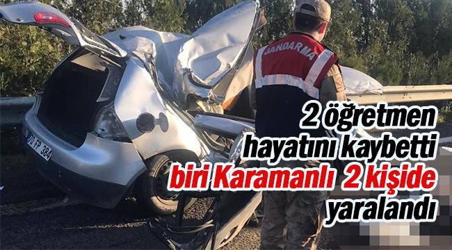 Kadın Kolları Başkanı Emiş Gönenç'in kızı kaza yaptı