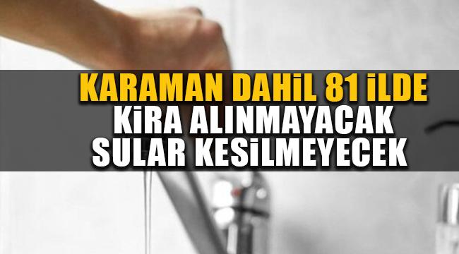 Karaman dahil 81 ilin belediyesine bakanlıktan genelge!