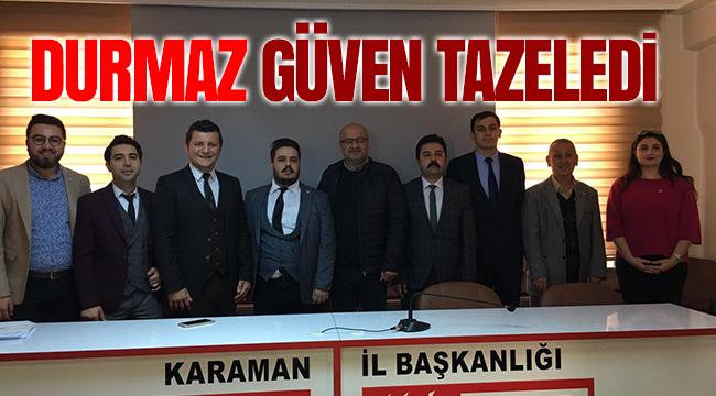 Mustafa Durmaz Yeniden Başkan