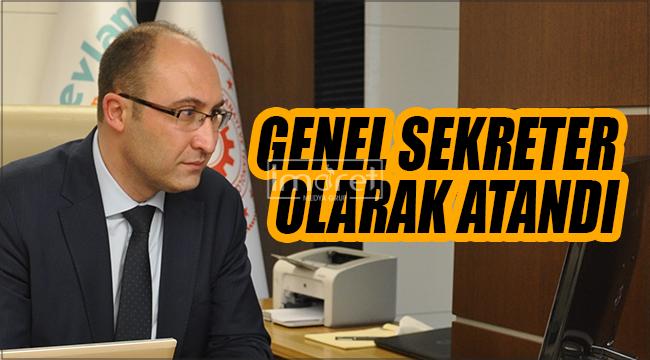 İhsan Bostancı Mevka Genel Sekreteri Olarak Atandı